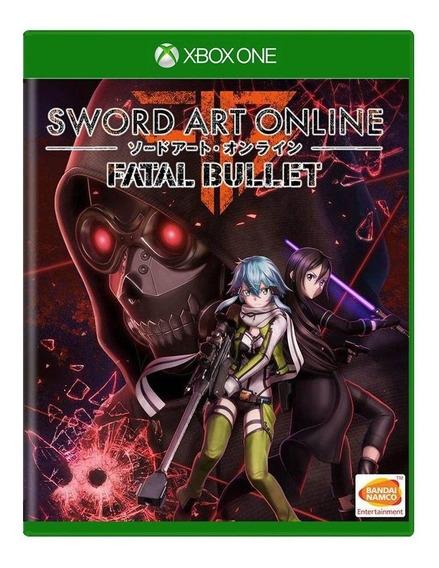 Sword Art Online Fatal Bullet Xbox One Mídia Física
