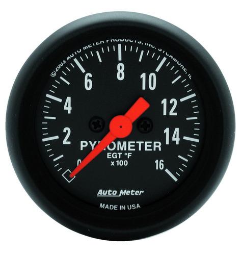 Imagen 1 de 1 de Auto Meter - Pirómetro Medidor. Serie Z. 2654
