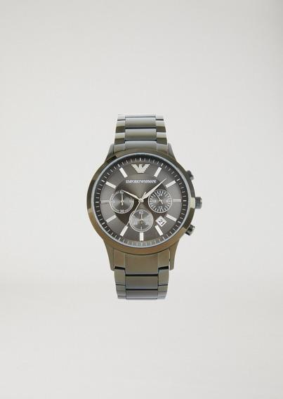 Relogio Emporio Armani Stopwatch 8700 - Garantia Original