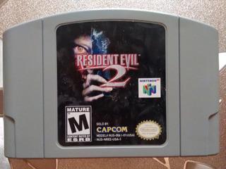 Game Pak Resident Evil 2 Nintendo 64 (1998)
