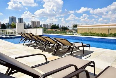 Apartamento Com 3 Dormitórios À Venda, 130 M² Por R$ 960.000 - Santo Amaro - Decorado - Ap4797