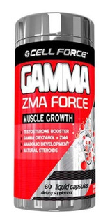 Gamma Zma Force - 60 Cápsulas - Cell Force