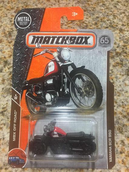 1/64 Matchbox Yamaha Scr 950 Edición Aniversario Nueva
