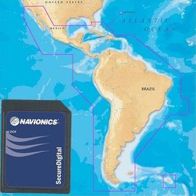 Carta Náutica Navionics Gold América Do Sul E Central