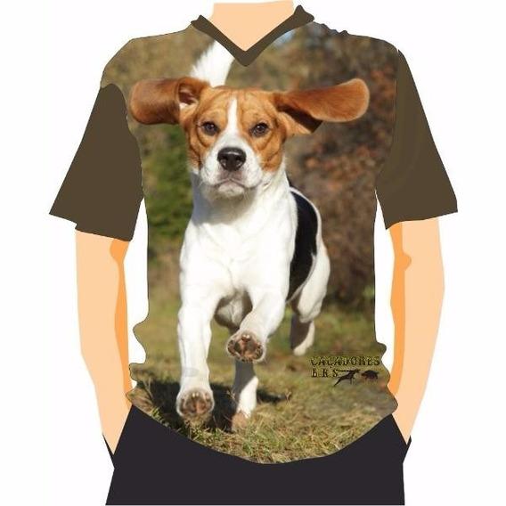 Camiseta Manga Curta Caçadores Brs- Beagle 1