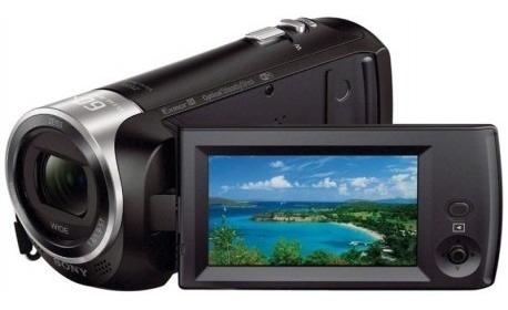 Filmadora Sony Hdr-cx440 Handycam Zoom 30x Wifi E Nfc