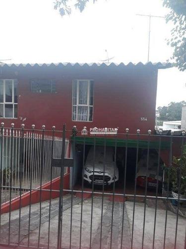 Imagem 1 de 11 de Vende Sobrado -bairro Cidade Dutra - So3599