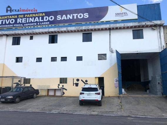 Galpão Para Alugar, 1300 M² Por R$ 17.000/mês - Chácara Do Solar I (fazendinha) - Santana De Parnaíba/sp - Ga0006