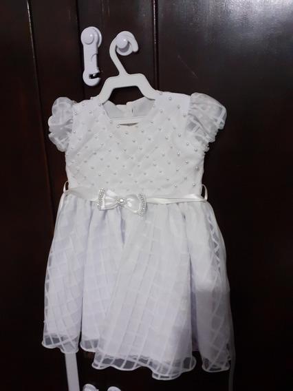 Vestido Batizado Tamanho 1