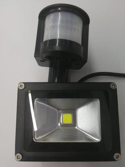 Refletor Holofote Led Sensor Presença Movimento 10w Bivolt