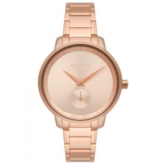 Relógio Orient Frss0043 R1rx Feminino Dour Rosê - Refinado