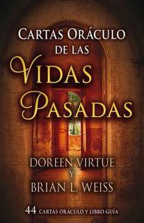 Cartas Oraculo De Las Vidas Pasadas Con Libro, Doreen Virtue