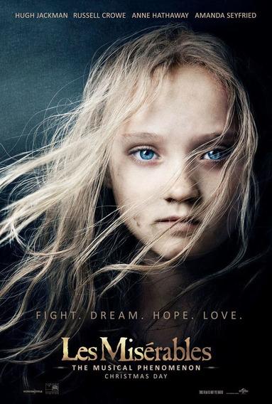 Poster Original Cine Los Miserables