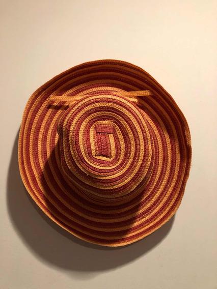 Sombrero Dama Playa Naranja