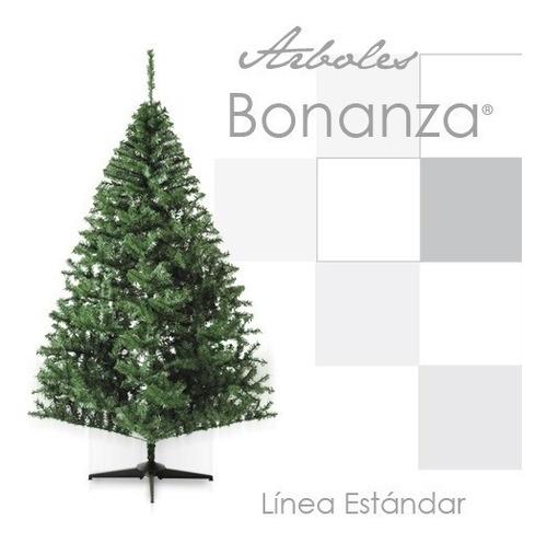 Arbol Pino Navidad Artificial Bonanza Frondoso 1.90 Mt Verde