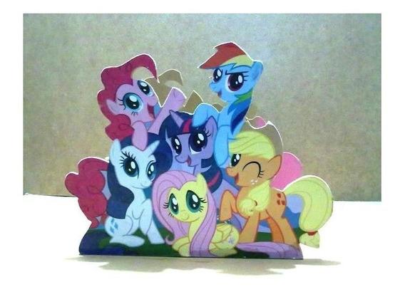 10 Centros De Mesa My Little Pony Infantil Centros Mesa