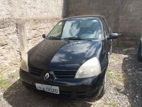Renault Clio Campus 1.0 2009 Preta Flex