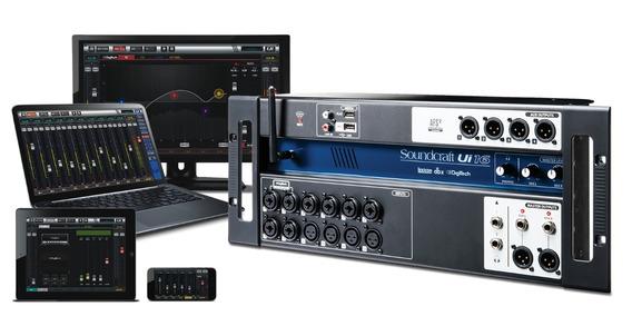 Mesa De Som Digital Soundcraf Ui 16 Original Garantia 1 Ano