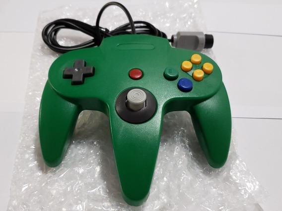 Controle N64 Nintendo 64 Verde - Temos Várias Cores