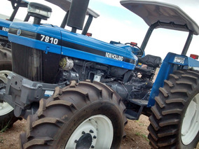 Maquinaria Agrícola Tractor New Holand 7810