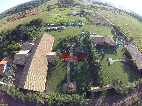 Chácara Rural À Venda, Chácaras De Recreio Felicidade (zona Rural), São José Do Rio Preto. - Ch0042