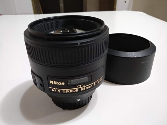 Lente Nikon 85mm 1.8g Impecável