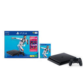 Console Playstation 4 Slim 1tb Bundle Fifa 19 - Ps4