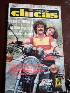 Pedro Infante Y Alicia Osorio En Fotonovela Chicas