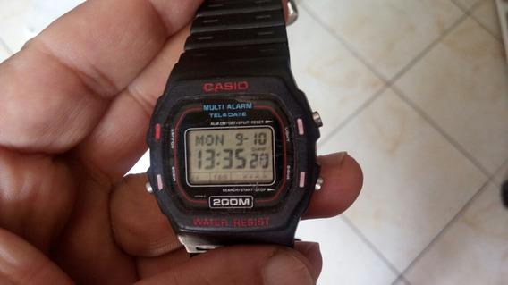 Relogio Casio Teledat 4 Alarme Ultra Raríssimo Anos 80