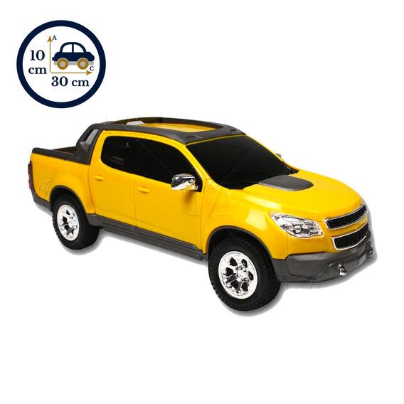 Carrinho Caminhonete Pick Up S10 1145 Menino Amarelo
