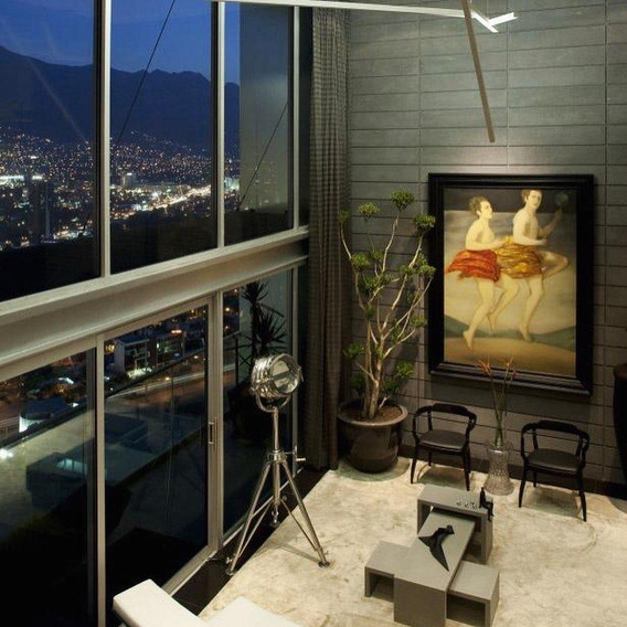 Renta Penthouse Amueblado En Valle Oriente - Loma Larga