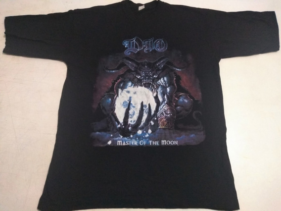 Dio - Camiseta Live In São Paulo Tour 2004 Tam G Excelente !