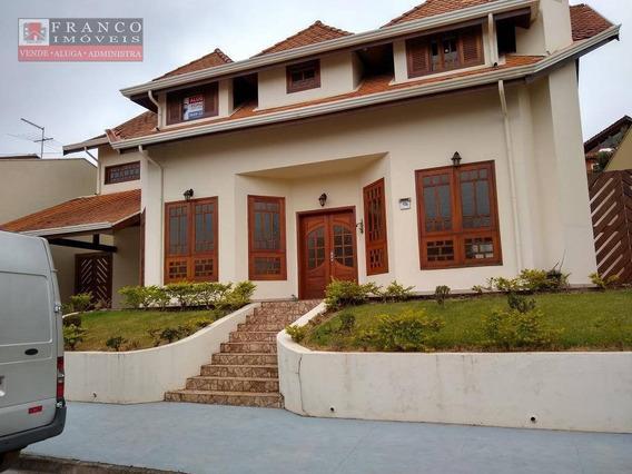 Casa Com 4 Dormitórios Para Alugar, 380 M² Por R$ 4.500/mês - Chácaras Silvania - Valinhos/sp - Ca0579