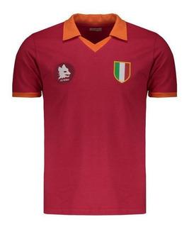 Camisa Roma Retrô 1983