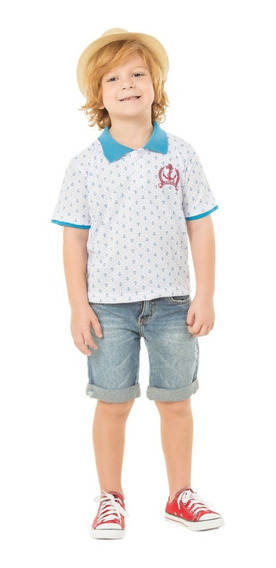 Camisa Polo Infantil Ralakids