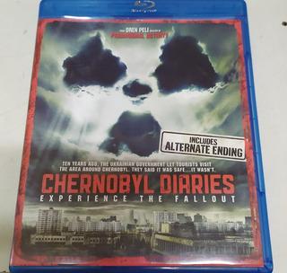 Blu Ray Chernobyl Diaries Original