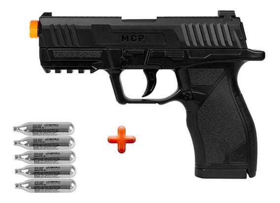 Pistola De Pressão Co2 Umarex Ux Mcp 4.5mm + 5 Co2