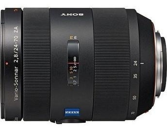 Lente Sony 24 70mm F/2.8 Carl Zeiss T_standard Zoom A Mount