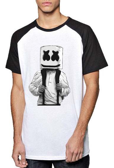 Remera Marshmello Mochila Dj Fortnite Mod2 Unisex Adulto