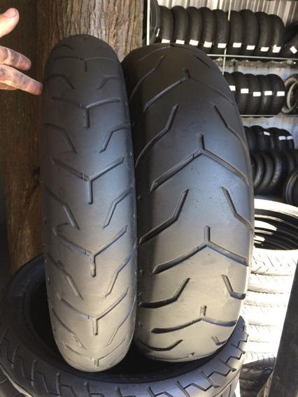 Pneus 130/80/17 E 180/65/16 Dunlop Usados Harley Davidson