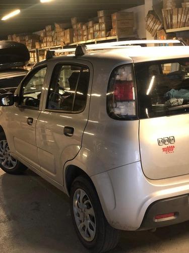 Barras De Techo  Original En  Aluminio  Fiat Uno Attractive