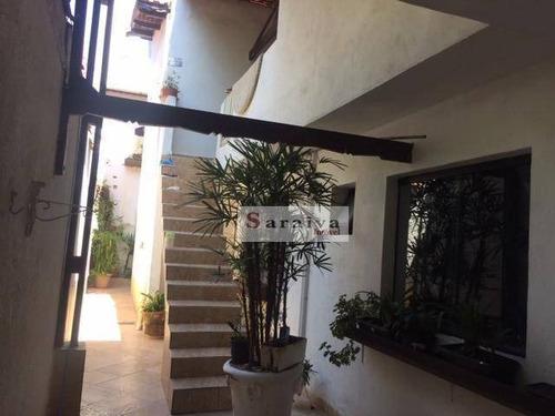 Imagem 1 de 20 de Sobrado À Venda, 270 M² Por R$ 850.000,00 - Rudge Ramos - São Bernardo Do Campo/sp - So1111