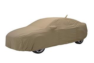 Covercraft Custom Fit Car Cover Para Ford Sedan Tan Flannel