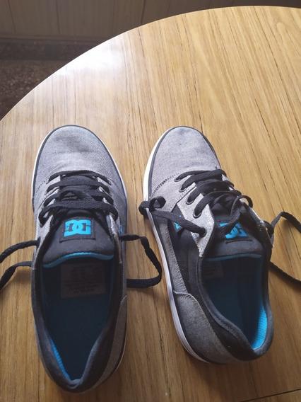 Zapatillas Dc Mujer Originales. Núm 37