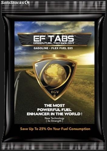 Ef Tabs Ahorro 25 % Consumo De Combustible - Made In Usa