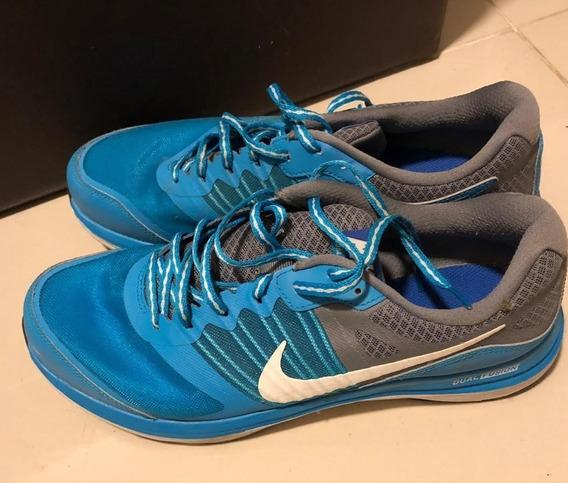 Tênis Nike Dual Fusion X - Azul E Cinza