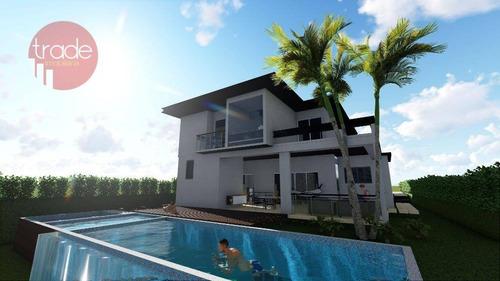 Casa Com 3 Dormitórios À Venda, 338 M² Por R$ 2.400.000,00 - Alphaville Iii - Ribeirão Preto/sp - Ca2319