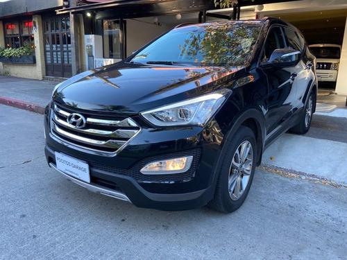 Hyundai Santa Fe 2014 2.4 Seguridad 7as 6at 2wd