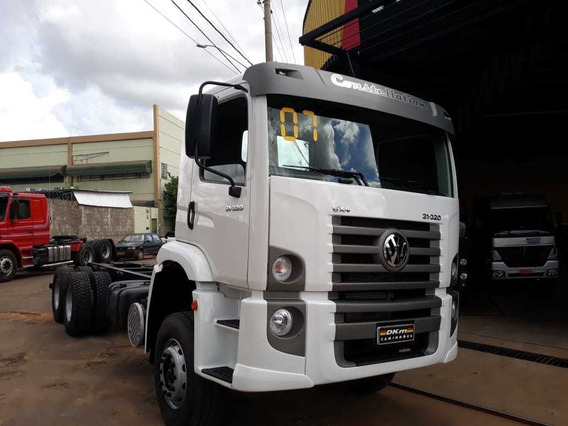 Vw 31320 Constellation 6x4 Ano 2007 Com 366 Mil Km No Chassi