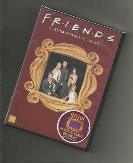Friends 10º Temporada 4 Dvds Box Scanavo Lacrado